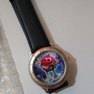 M&M Limited Edition Watch 1998 Never Worn Unisex